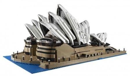 LEGO® lanza la Casa de la Opera de Sydney, formada por 3000 ...   Minecraft Nymeria   Scoop.it
