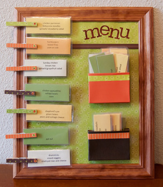 The Ultimate Menu Board Inspired from Browsing Pinterest | Home & Office Organization | Scoop.it