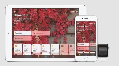 Apple Home contrôle tous les périphériques HomeKit en une app | Hightech, domotique, robotique et objets connectés sur le Net | Scoop.it