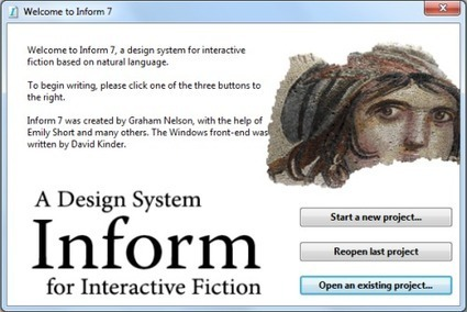 Gamasutra: Dan Cox's Blog - Learning Inform 7: Part 1 | Interactive Fiction and Digital Game-based Learning | Scoop.it