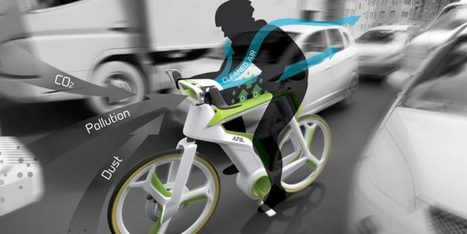 This Bike Not Only Stops You From Making Pollution, It Eats It | Radical Compassion | Scoop.it