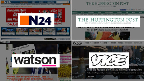 Social-Media-Ranking: N24, Huffington Post, watson und Vice stürmen nach oben | Mediaclub | Scoop.it