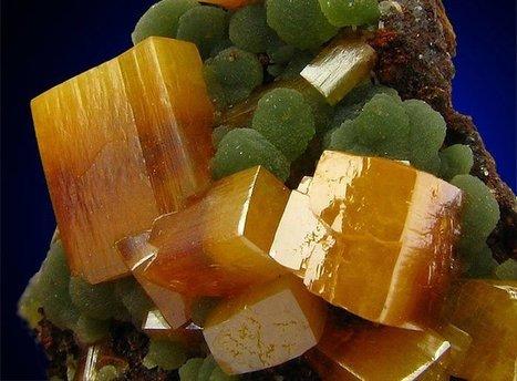 Wulfenite and Mimetite | Minerals | Scoop.it