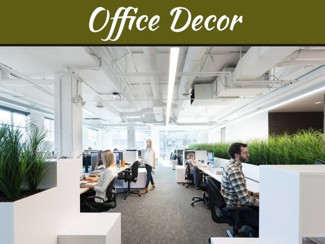 Office-Design Trends to Supercharge Your Workspace | MyDecorative | Scoop.it