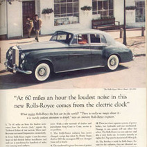 David Ogilvy's Famous Rolls Royce Advertisement | Famous Advertisements | A Cultural History of Advertising | Scoop.it