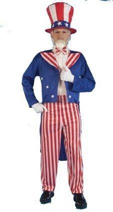 Halloween 2013 Forum Patriotic Party Uncle Sam Costume, Red, Standard from Forum Sales $ Deals | Halloween Costumes 2013 | Scoop.it
