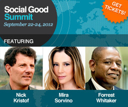Watch the Global Conversations at Social Good Summit Live | Philanthropy Means, Mechanisms & Motivations | Scoop.it