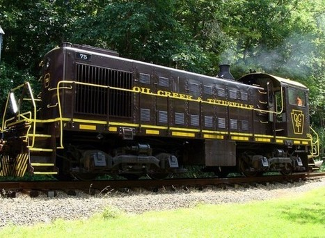 Oil Creek and Titusville Railroad - Blue Marble Xpress | Camping | Scoop.it