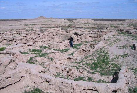 Dans le désert turkmène, une cité antique émerge peu à peu du sable | Les déserts dans le monde | Scoop.it