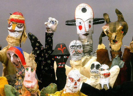 the raw art puppets of Paul Klee   [New] Media Art Education & Research   Scoop.it