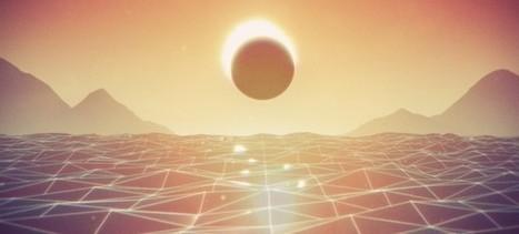 Trippy Animated GIFs with a Sci-Fi Retro Feeling | Creatividiario: recursos, inspiración y motivación para creadores en la web | Scoop.it