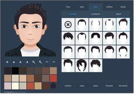 3 sites pour vous créer un avatar à votre image – Les Outils Tice | Education & Technology | Scoop.it