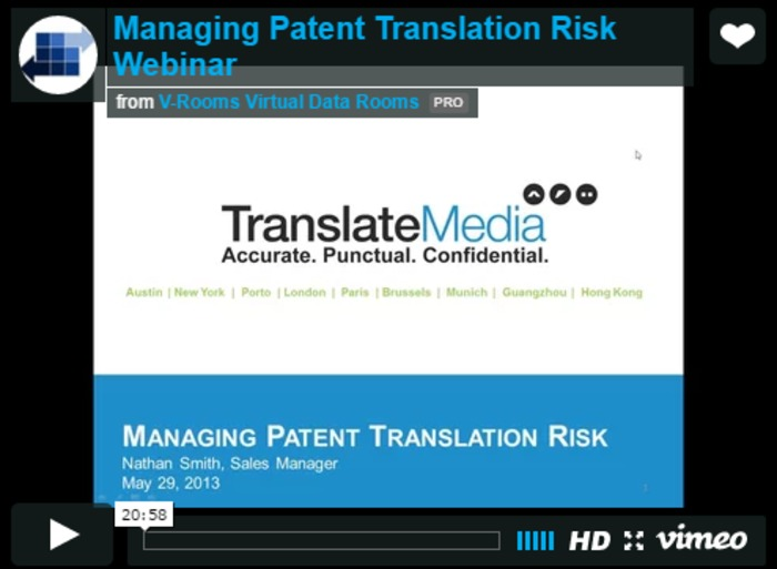 (TOOL) (VIDEO) - Managing Patent Translation Risk   Nathan Smith   Glossarissimo!   Scoop.it