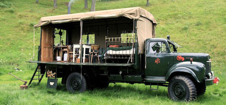 This Old Fire Service Truck Might Be Scotland's Coolest B&B | Economy | Scoop.it
