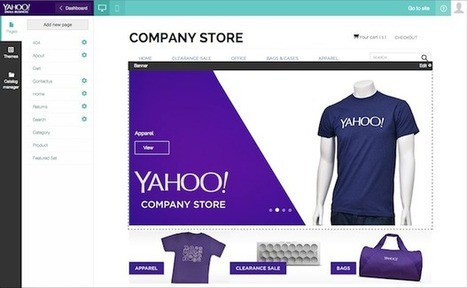 Yahoo eyes small businesses with Stores e-commerce launch | Yahoo Store Tips | Scoop.it
