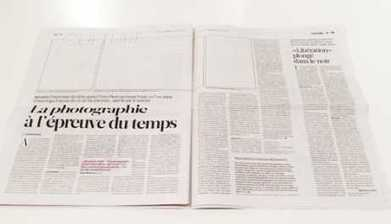 French paper published without photographs | What's new in Visual Communication? | Scoop.it