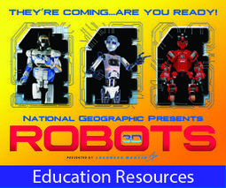 Challenge: Robots! - National Geographic Education | Educational technology , Erate, Broadband and Connectivity | Scoop.it