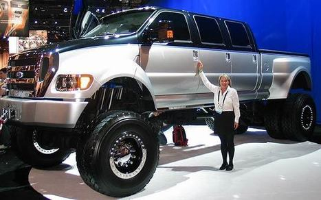 Ford F650 - A Giant Truck   Logistics or Heavy Hauling Industry   Scoop.it