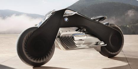 Elle s'auto-équilibre, pas besoin de casque : BMW rêve la moto du futur | ocmq | Scoop.it