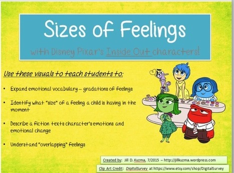 Size of your Feelings with Disney Pixar's Inside Out movie characters | Socio-Emotional Learning | Scoop.it