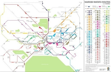This Is What Informal Transit Looks Like When You Actually Map It | visual data | Scoop.it