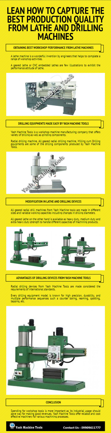 Lean how to Capture the Best Production Quality from Lathe and Drilling Machines   Lathe Machines   Scoop.it