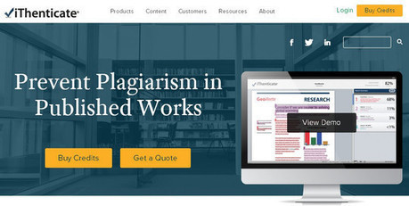 10 Free Plagiarism Detection Tools | Teachning, Learning and Develpoing with Technology | Scoop.it