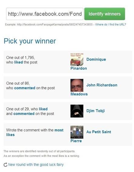 Cuatro herramientas para lanzar concursos en tu muro de Facebook | Social Media Today | Scoop.it