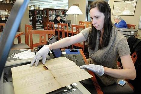 Civil War artifacts archived at library | The Mountain Press | Tennessee Libraries | Scoop.it