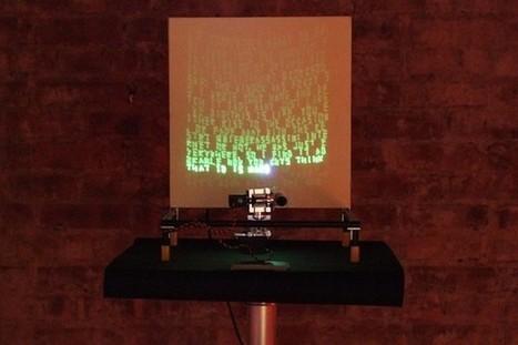 Matt Richardson turns Arduino, Twitter and lasers into art (video)   Arduino Focus   Scoop.it