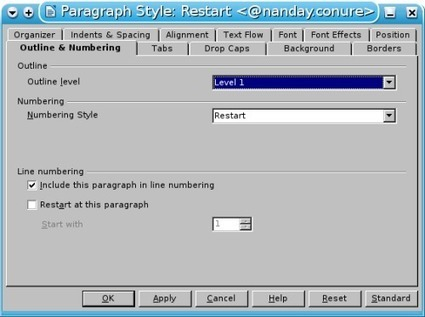 9 Tricks for Using List Styles in LibreOffice/OpenOffice.org - Worldlabel   TDF & LibreOffice   Scoop.it