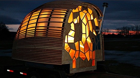 This Student-Designed Portable Home May Be The Most Beautiful Tiny House We've Seen   Permaculture, Homesteading & Green Technology   Scoop.it