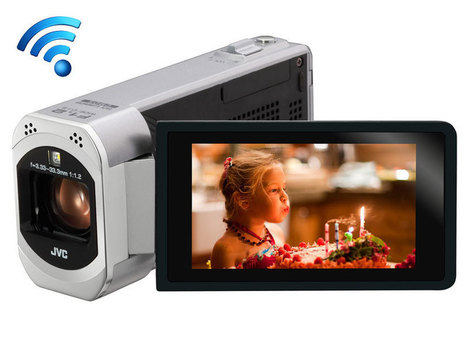 Caméscope JVC Wifi Full HD | Application pour Tablettes Android | Scoop.it