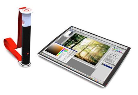 Rolltop, le premier concept d'ordinateur flexible qui se porte en   bandoulière | Pralines | Scoop.it