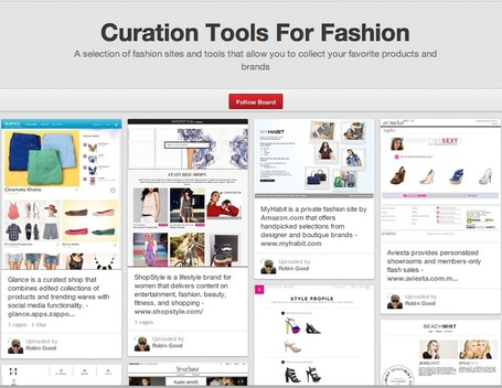 Curation Tools For Fashion | Content Curation World | Scoop.it
