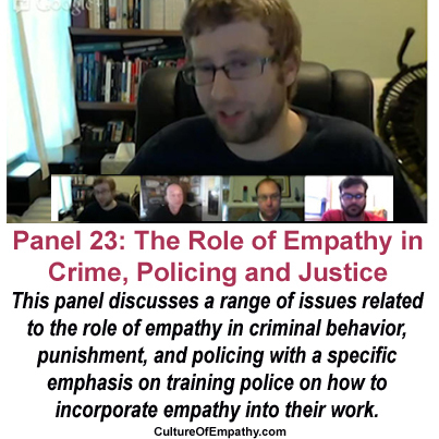 Conference Panel 23 - The Role of Empathy in Crime, Policing and Justice | Empathy and Justice | Scoop.it