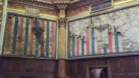 Papiers peints de la Révolution découverts dans une église d'Ariège | Théo, Zoé, Léo et les autres... | Scoop.it