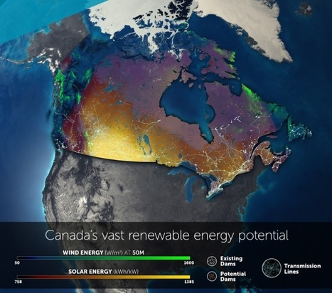 Here's How Canada Could Have 100% Renewable Electricity by 2035 | Zero Footprint | Scoop.it
