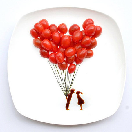 31 Days of Food Art by Hong Yi | Picture This. | Scoop.it