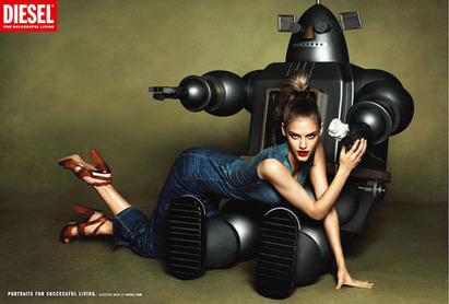 Diesel Fills Your Life With Giant Robots, Eggs and Hammers | Adweek | Psychology of Consumer Behaviour | Scoop.it