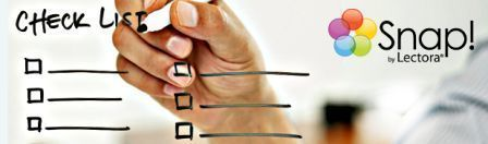 Rapid e-Learning Checklist: What You Need to Know | Snap by Lectora | Interactive Teaching and Learning | Scoop.it
