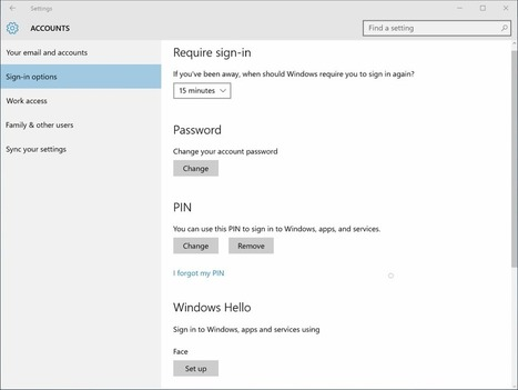 Enhanced Anti-Spoofing for Windows 10 - gHacks Tech News | Security and Privacy | Scoop.it