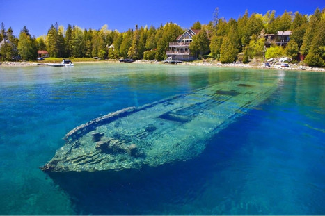 Scuba Diving in Tobermory - Historic Shipwrecks in Clear Water | All about water, the oceans, environmental issues | Scoop.it