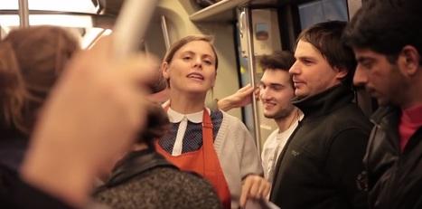 Michel et Augustin recrute dans le métro de manière totalement originale ! I Julien Fabro | Entretiens Professionnels | Scoop.it