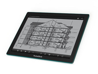 E Ink Introduces Fina EPD Module, First To Be Installed In The Pocketbook CAD Reader | Creative Communication News | Scoop.it