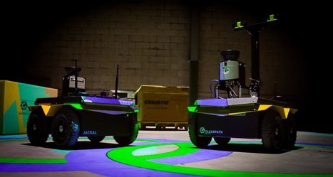 Clearpath and Christie Make 3D Video Game with Robots | Canada's Technology Triangle Inc. | Scoop.it