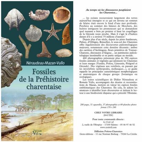 Fossiles de la Préhistoire charentaise | Revue de Web par ClC | Scoop.it