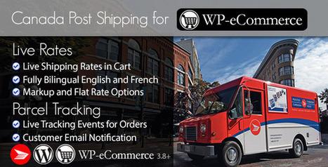 Canada Post WP e-Commerce Shipping Plugin (WP e-Commerce)   Best Wordpress Plugins   Scoop.it