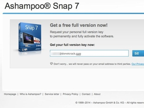 [Promo] Ashampoo Snap 7 - Free full version | Free license for you | Free giveaway for you | Scoop.it