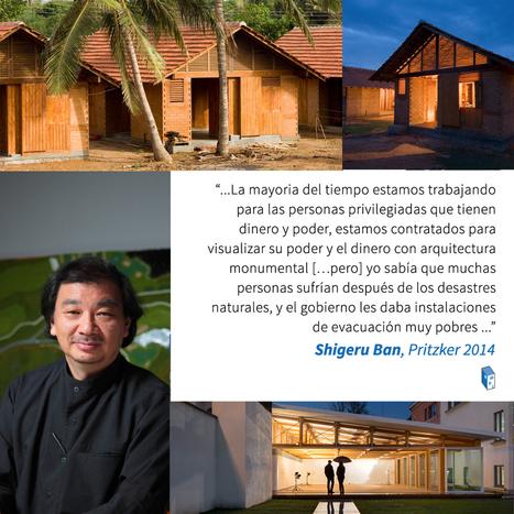 [Shigeru Ban] IMPRESIONES del Mundo de la Arquitectura Sobre el Premio Pritzker 2014 | The Architecture of the City | Scoop.it